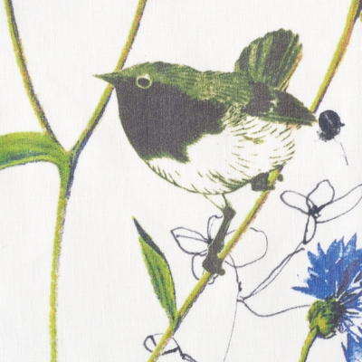christian fischbacher flora 14351 104 stoff f r vorh nge und gardinen nach ma. Black Bedroom Furniture Sets. Home Design Ideas