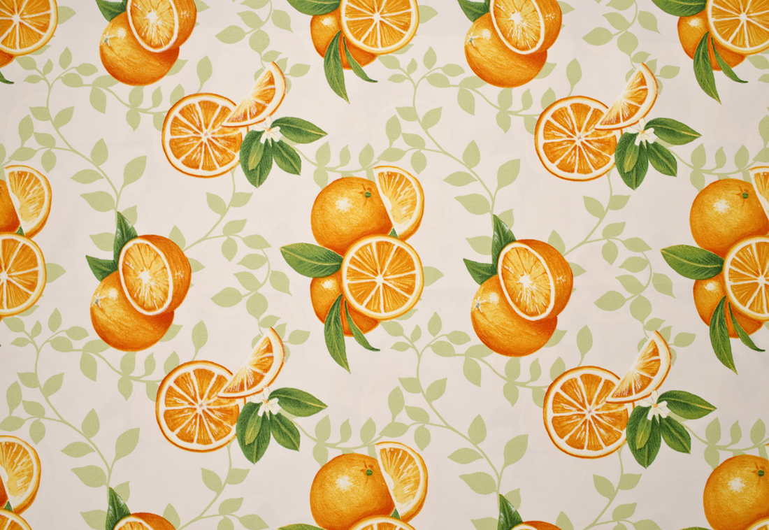 Stoff Oranges 6487-6487-02 von Label One