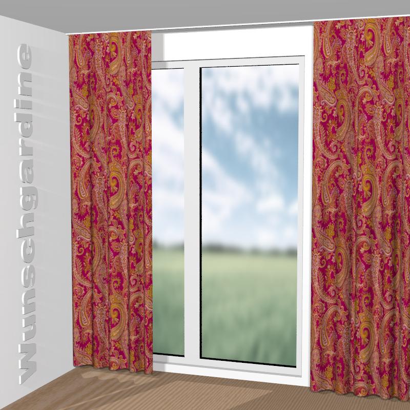 jab anstoetz tibisco 9 7295 060 stoff f r vorh nge und gardinen nach ma. Black Bedroom Furniture Sets. Home Design Ideas