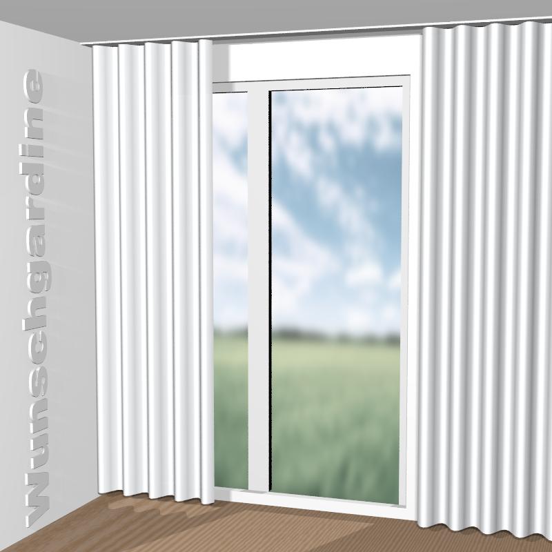 christian fischbacher alias 14390 100 stoff f r vorh nge und gardinen nach ma. Black Bedroom Furniture Sets. Home Design Ideas