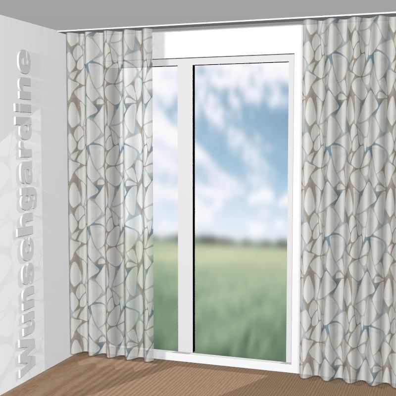 JAB Anstoetz Fancy 1-8780-050: Stoff für Vorhänge und Gardinen nach Maß