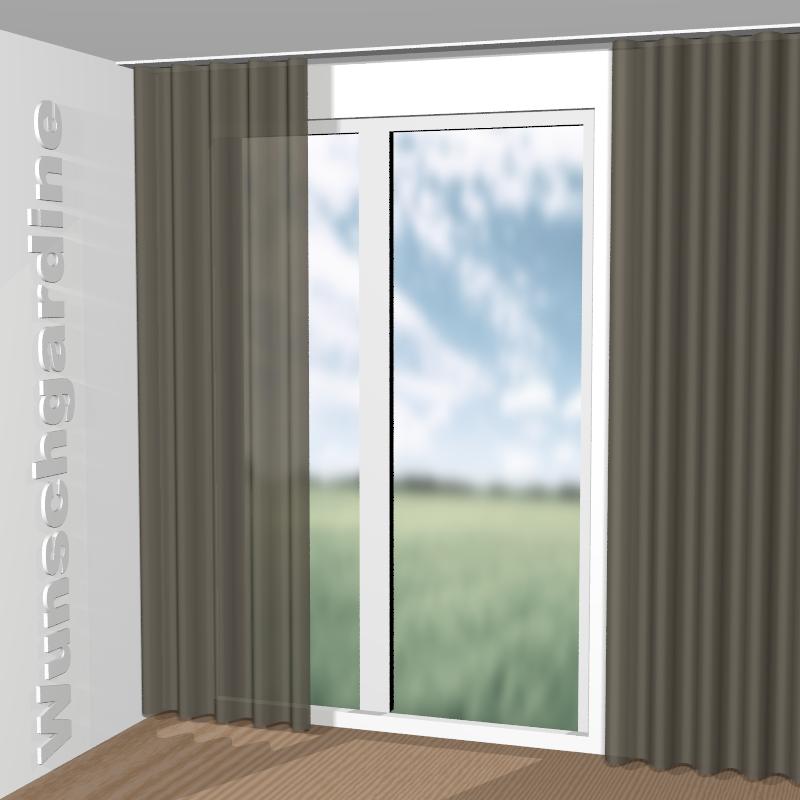 chivasso still ca1400 020 stoff f r vorh nge und gardinen nach ma. Black Bedroom Furniture Sets. Home Design Ideas