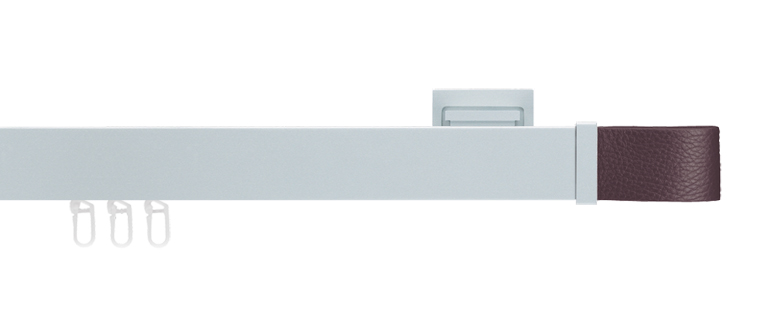 Interstil Ambition in Farbe 79 aluminium 52 braun